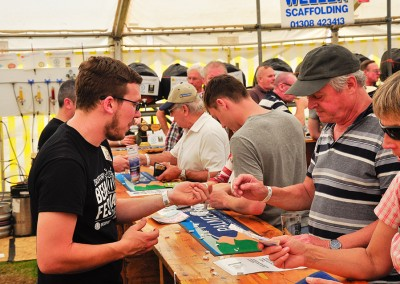 Buying Tokens at Beer Fest 2017