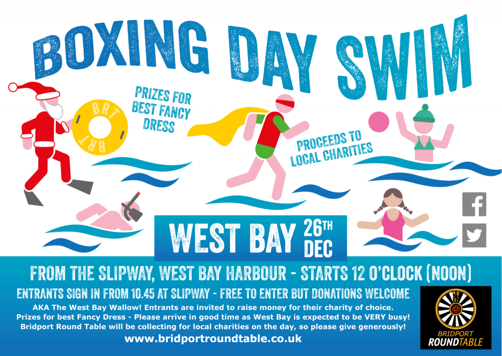 Boxing Day Swim 2016 West Bay
